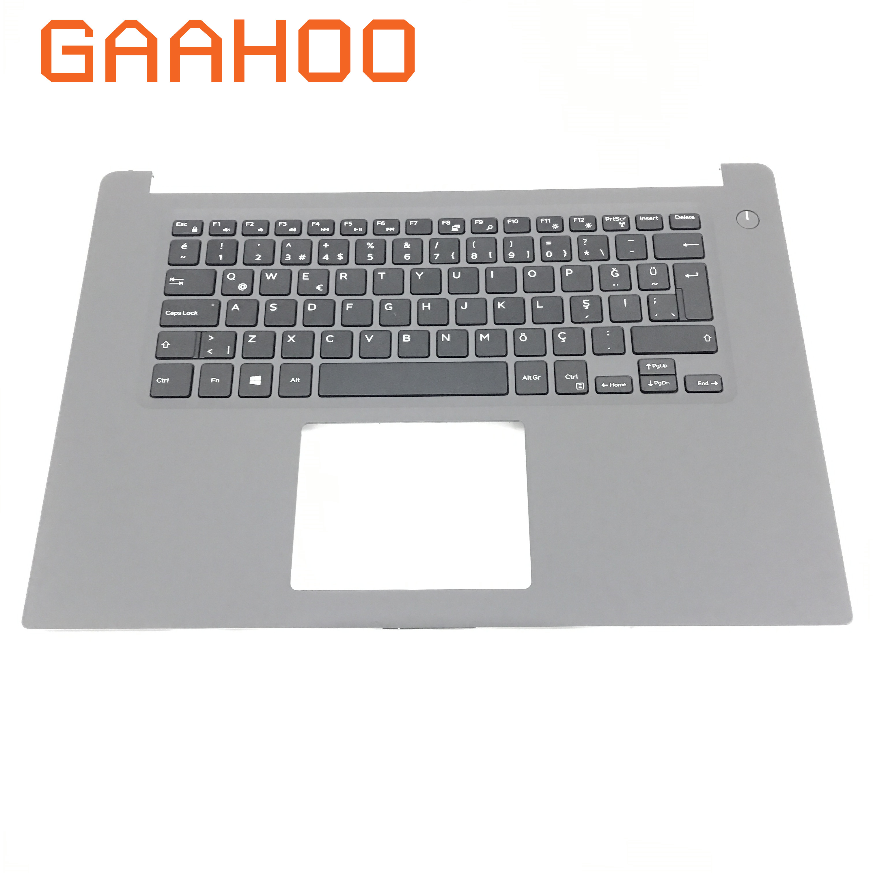 Brand new laptop parts for DELL INSPIRON 15 7560 7572 Palmrest assembly TR TURKEY Keyboard