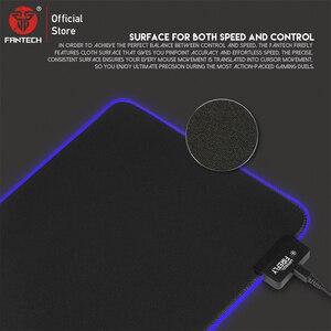 Image 4 - FANTECH MPR800S RGB Cabo USB Mousepad Mouse Pad Grande Profissão Mive Superfície Lisa Com Borda de Travamento Para FPS LOL Gaming Pad
