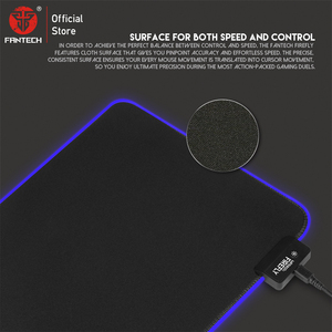 Image 4 - FANTECH MPR800S RGB Large Mouse Pad Profession USB Cable Mousepad Smooth Surface With Locking Edge For FPS LOL Gaming Mive Pad
