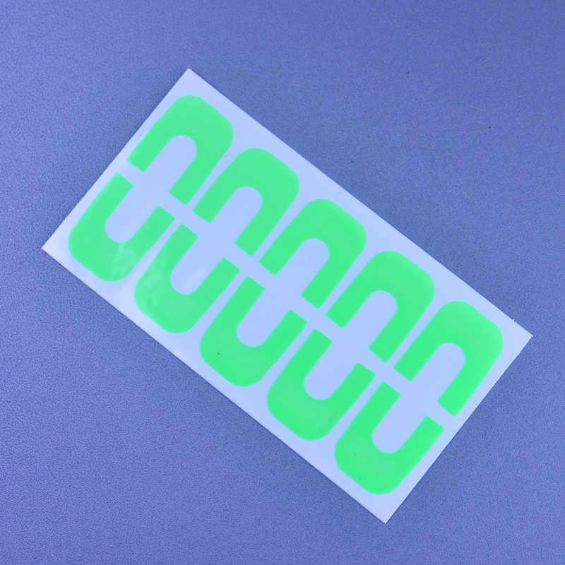 נייל כלים פלסטיק לק טיפים כיסוי קצה נגד הצפה Creative אצבע כיסוי מניקור תבנית קליפ סט