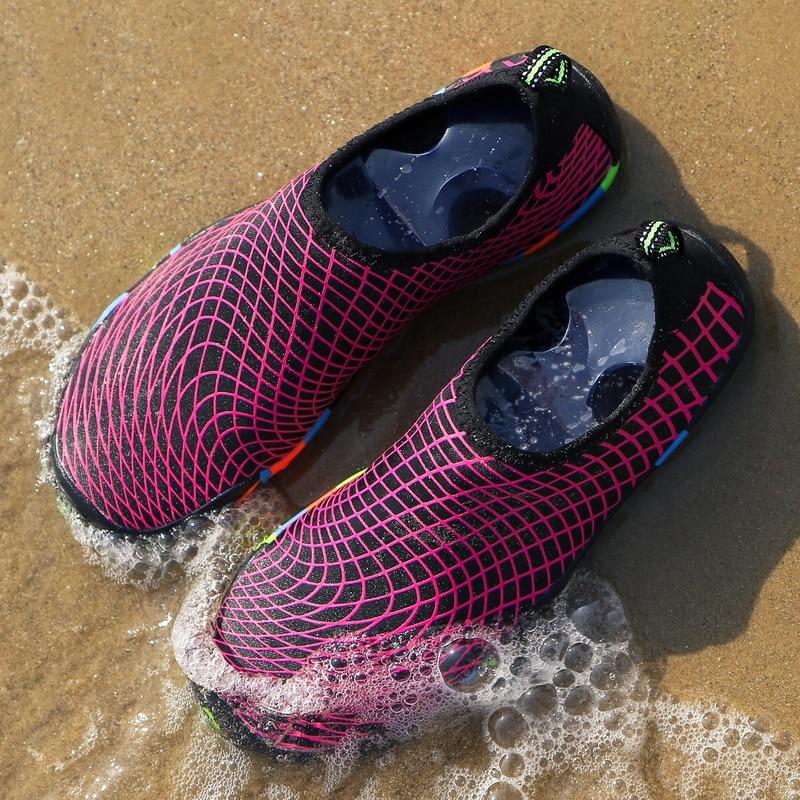 TIOSEBON Size 35-47 Comfortable Diving Snorkeling Shoes Quick Dry Water Upstream Outdoor Beach Barefoot Men Women
