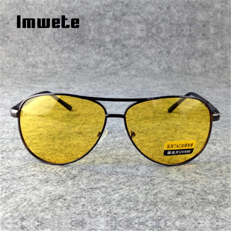 62cfc82016b ... Imwete Polarized Sunglasses Men TAC HD Sun Glasses Female Male Night  Vision Driving Glasses Goggles UV400 ...