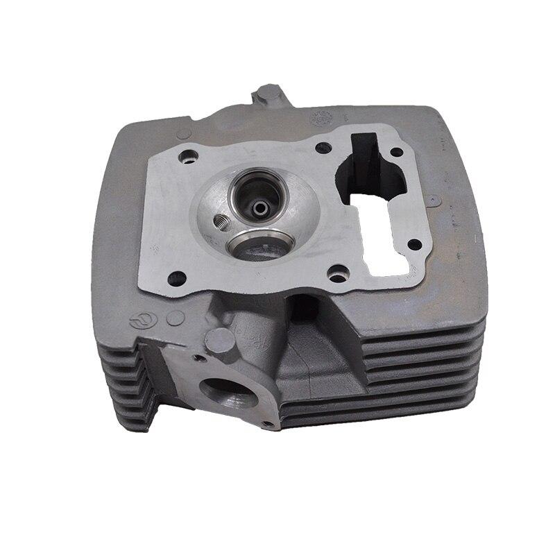 (Válvula é presente) motocicleta modificado cabeça do cilindro para honda cbf125 cbf150 grande furo ampliar de ar-entrada e câmara de combustão
