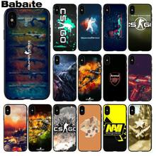 Babaite CS GO GO GO Novelty Fundas โทรศัพท์กรณีสำหรับ iPhone X XS MAX 6 6s 7 7plus 8 8Plus 5 5S SE XR(China)