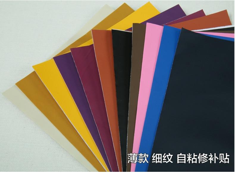 Black Self Adhesive Self Adhesive Leather Cloth Sofa