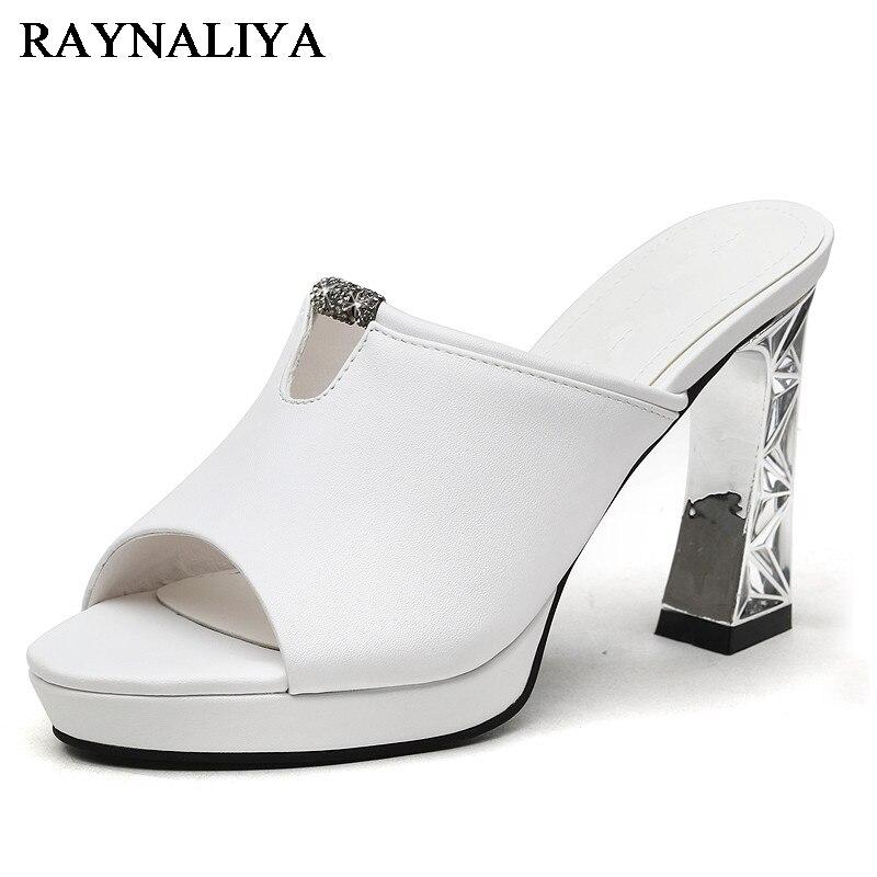 HOT Women Open Toe Wedding Party Sandal Rhinestones Slingback Slingback Shoes