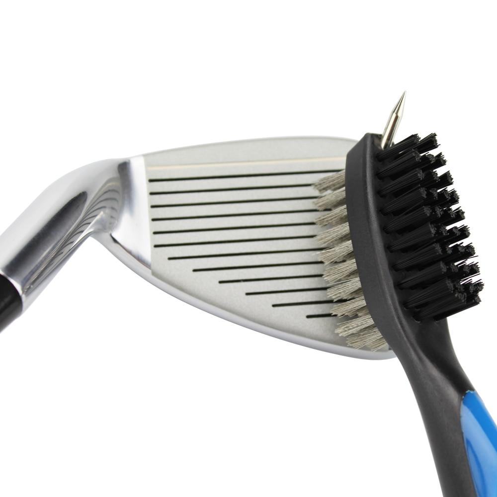 Furçë klubi golfi furçë pastrimi për brazdë golfi 2 anësore - Golfit - Foto 4