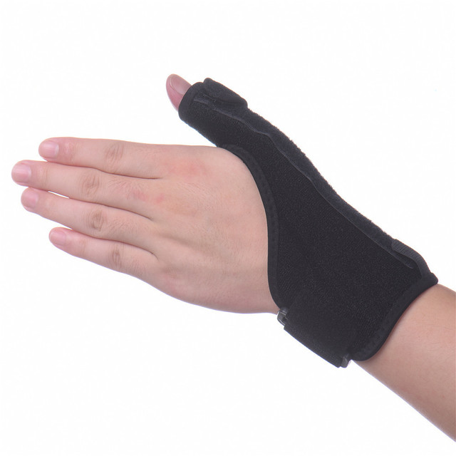 Medical Wrist Elastic Thumb Wrap Hand Palm Wrist Brace Splint Support  Arthritis Pain Sport Training Thumb Fitted Correction
