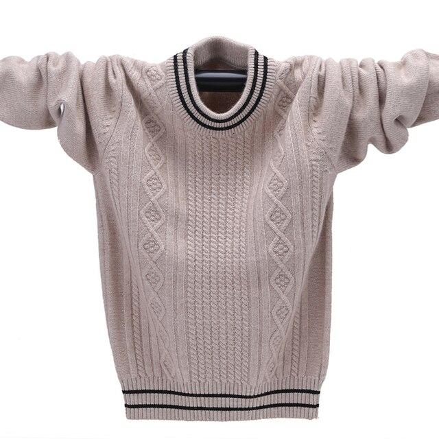 Suéter de cachemira de invierno para un chico caliente Pullover ...