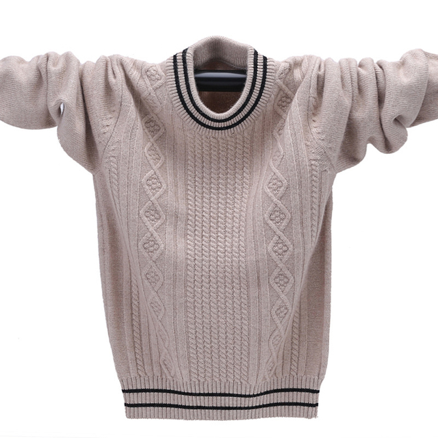 Winter Cashmere Sweater For A Boy Warm Pullover Boys Sweater