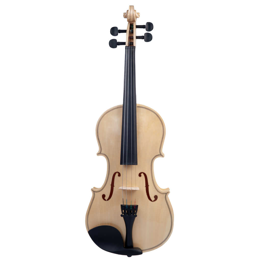 4/4 Full Size Acoustic Violin with Bow/Rosin/Case/Bridge for Students Adults