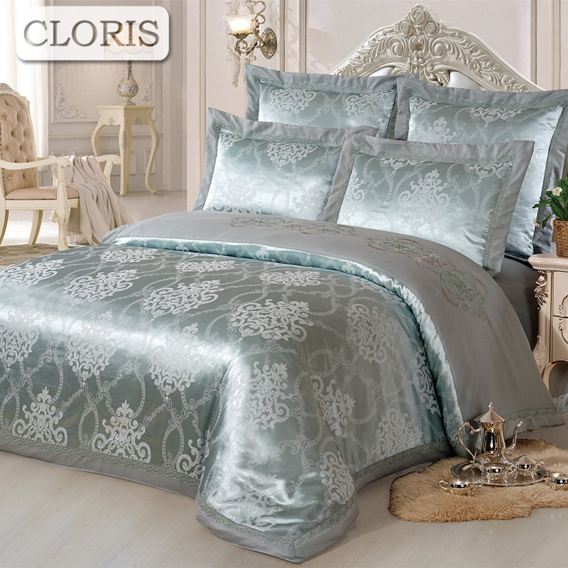 CLORIS Bedding Kit Four Seasons Quilted Bedspread Pillowcase Plaid King Size Patchwork Cotton Sheet Bed Sheets bedclothes