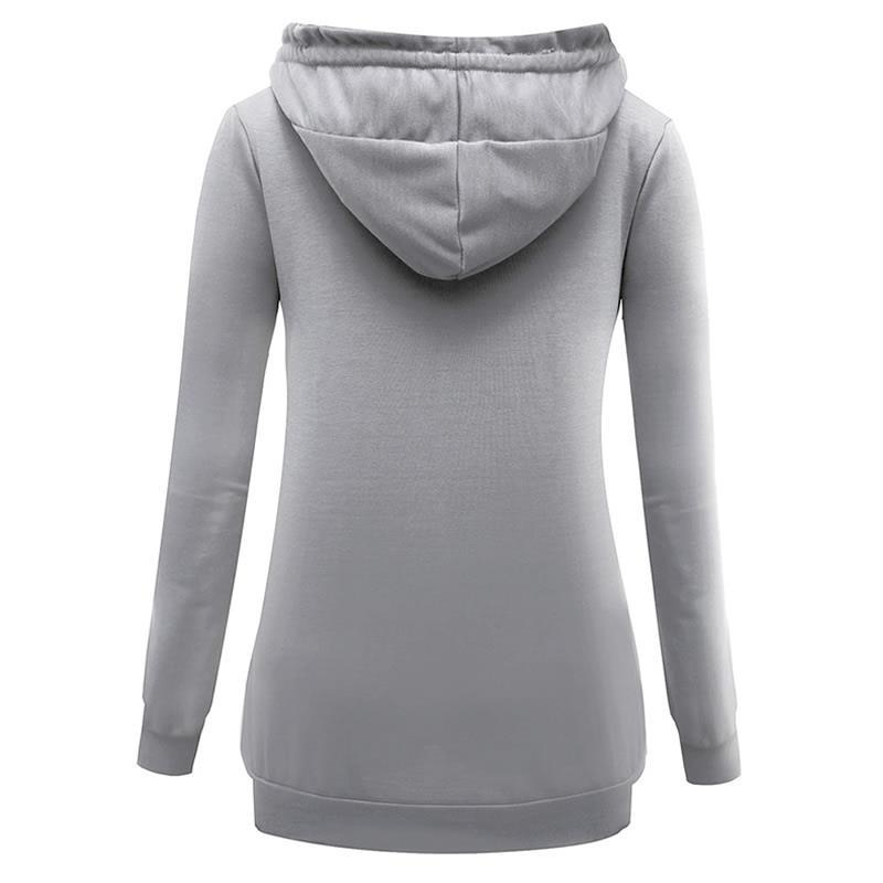 18 New Fashion Vegan Print Sweatshirt Femmes Hoodies Kawaii Sweatshirts Loose CuteFemale Autumn Street Thick Sweet Harajuku 13