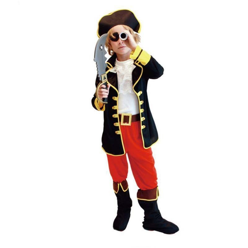 Балалар Boy Girl Pirates Cosplay костюм Fancy Dress - Костюмдер - фото 2