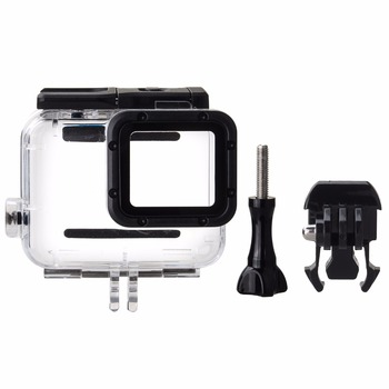EACHSHOT 45M Underwater Waterproof Diving Housing Case with Quick Release Mount Thumbscrew for GoPro HERO 5 6 7 Action Camcorder