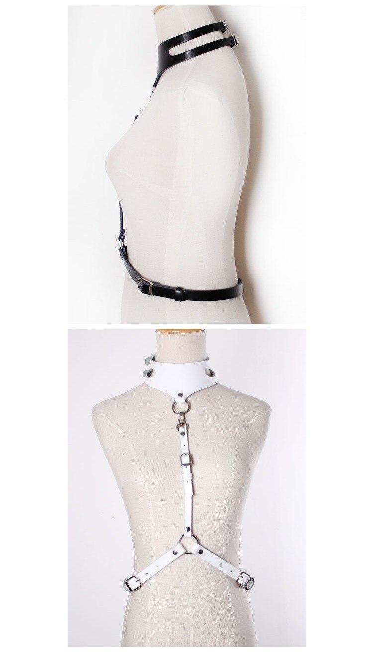 ARNÉS DE CUELLO GARTER, arnés de cuerpo sexy ajustable desmontable - Accesorios para la ropa - foto 4