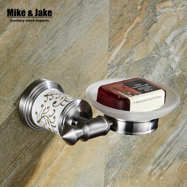 Rvs 304 badkamer zeephouder badkamer zeep rack houder plank borstel ...