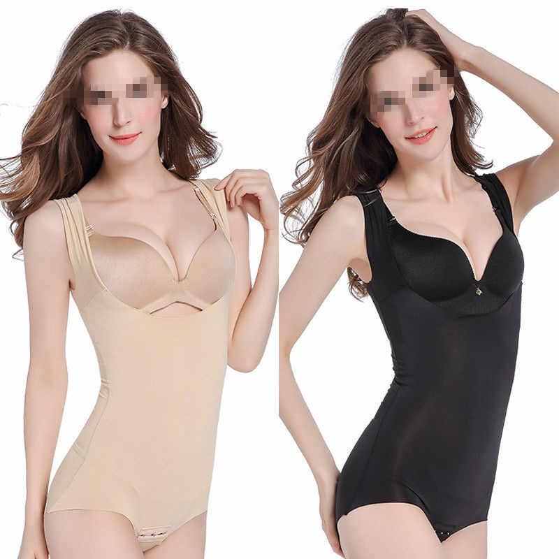 0b3e22a43b Shapewear waist Slimming Shaper Corset Slimming Briefs strap body shaper  underwear women bodysuit women Two Color
