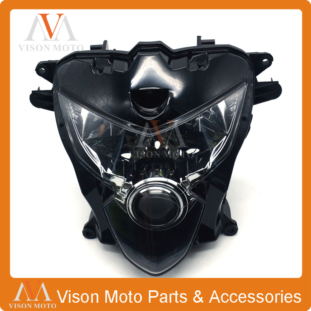 Motorcycle Front Light Headlight Head Lamp For SUZUKI GSXR600 GSXR750 <font><b>GSXR</b></font> <font><b>600</b></font> 750 K4 <font><b>2004</b></font> 2005 04 05 image
