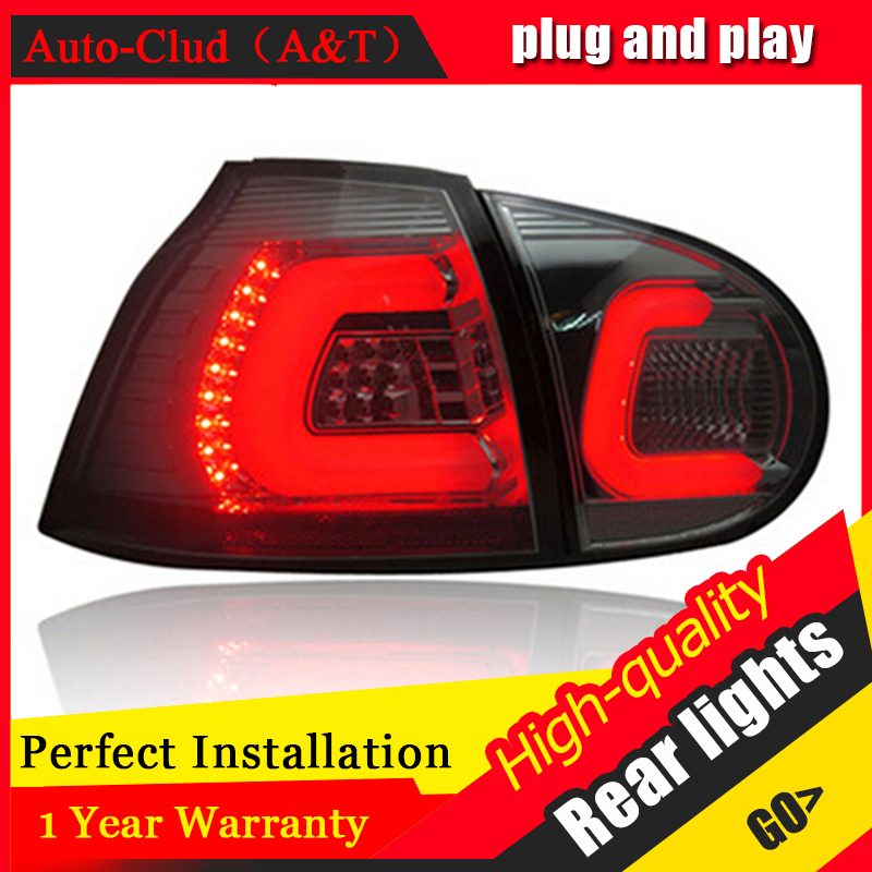 AUTO.PRO 2003-2008 vw golf 5 led rear lights car styling golf mk5 led rear lamp parking vw golf 5 taillights led car styling free shipping 11x vw golf 5 gt 2003 2008 white led lights interior package kit canbus 107