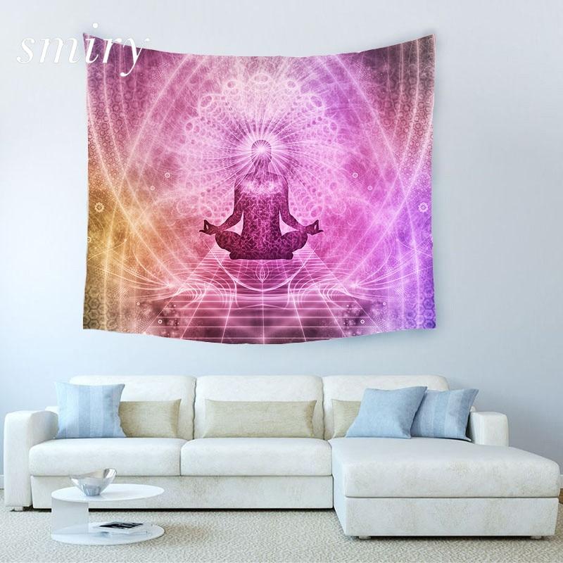 Indien yoga kreative tapisserie strand werfen matte yoga teppich wandbehang gobelin wohnzimmer bettwäsche wohnkultur