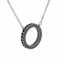 100% Hearts Round Choker Necklace Silver 925 Jewelry Clear CZ Statement Necklaces for Women Diy Necklaces & Pendants