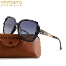 KEITHION Oversized Polarized Sunglasses Women Fashion Sun Glasses Lady Brand Designer Vintage Shades Gafas Oculos de sol UV400 цена и фото