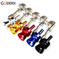 Universal Size L Car Turbo whistle Muffler Exhaust Pipe Blow off Vale Turbo Sound BOV Simulator Turbo Whistle LY0295