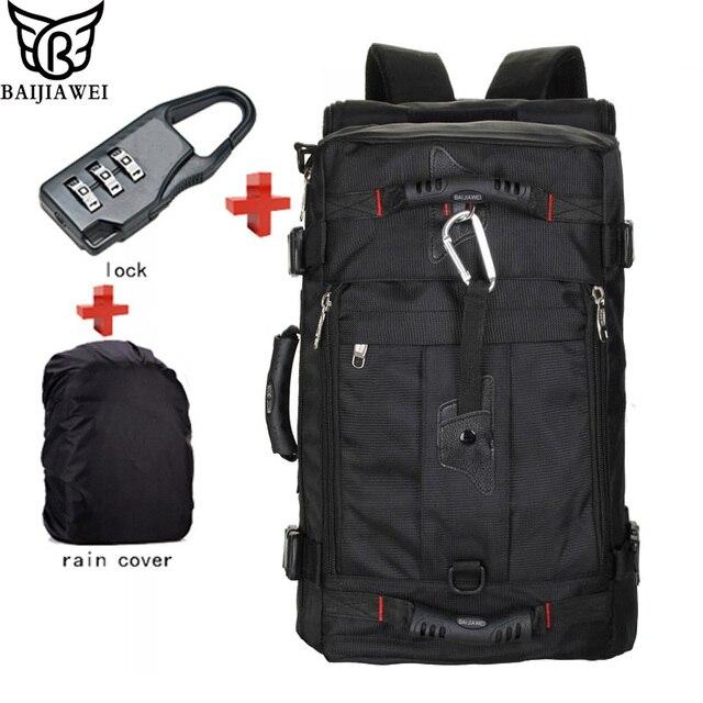 Mochila masculina рюкзак рюкзаки hemp
