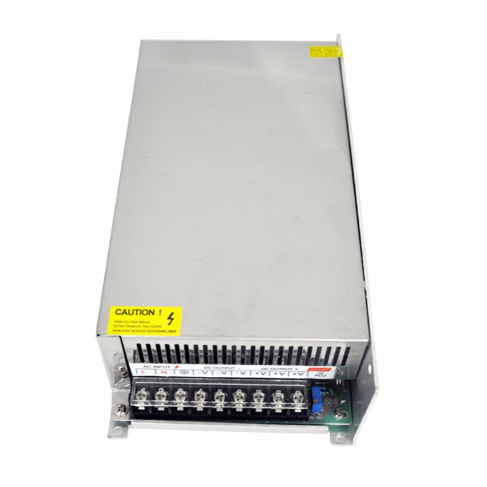 AC to DC 48V High Power Switching Power Supply 600W with Aluminum Shell