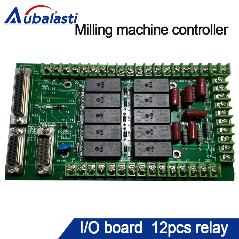 milling machine controller I/O board 12pcs relay pcl 722 collecting board 144 dio board volume bit digital i o card