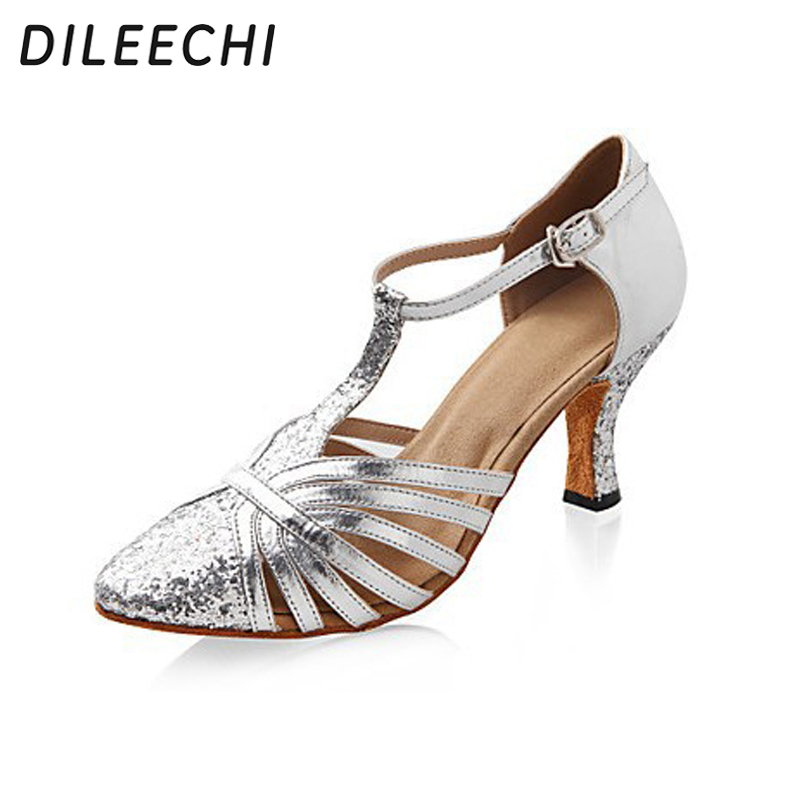 c45b1306ba best top silver sparkle dance shoes ballroom brands and get free ...