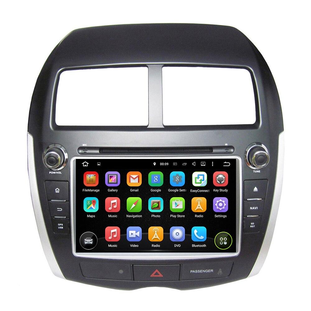 KLYDE 8 2 Din Android 8.1 Autoradio Pour MITSUBISHI ASX 2010-2012 Flansh 16 gb 1024*600 Voiture Audio Multimédia Lecteur De Voiture Stéréo