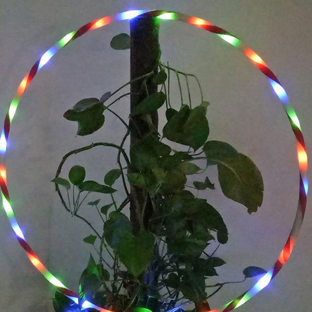 90 см LED Glow Hula Hoop Многоцветный Спорт Игрушки Похудеть Дети Ребенок