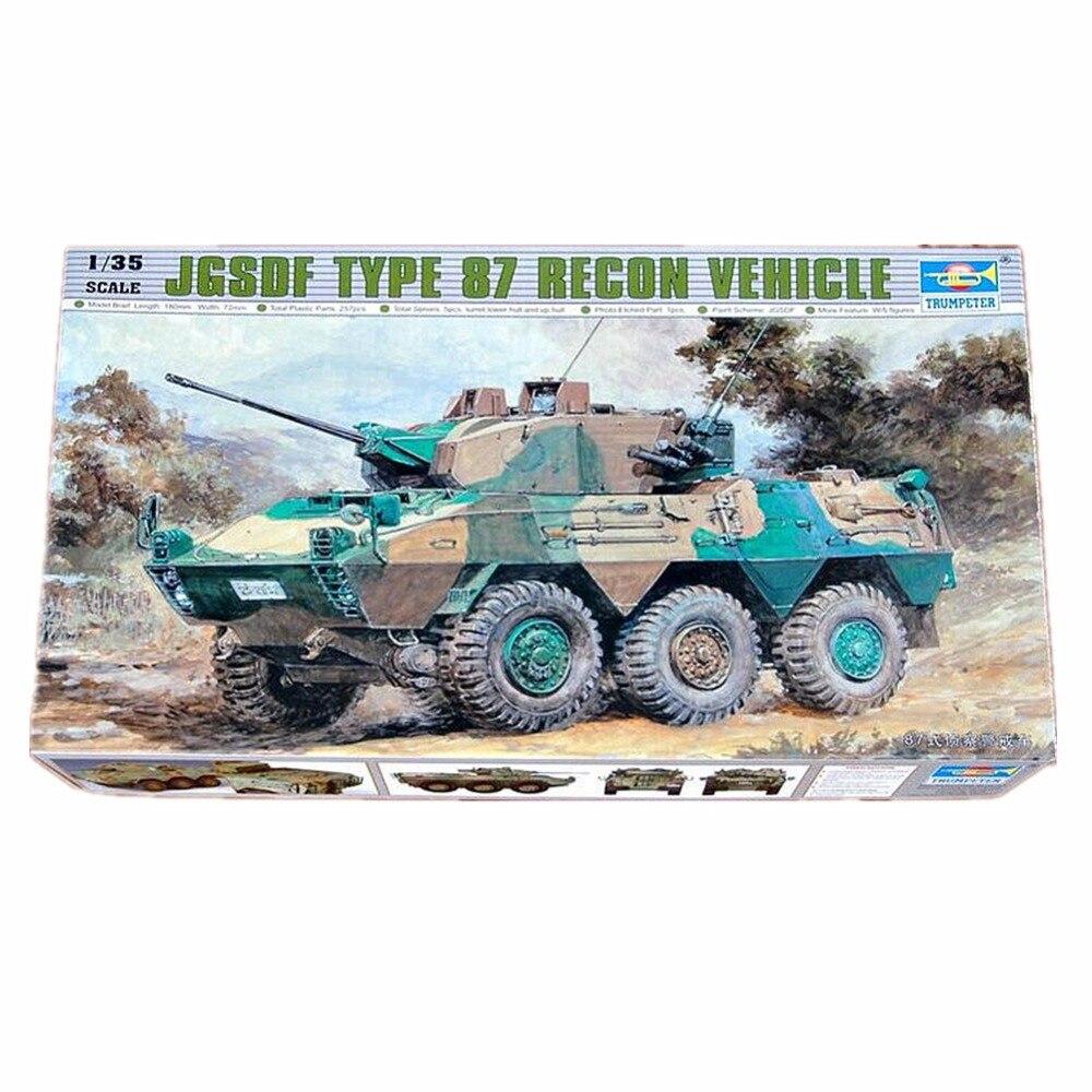 OHS Trumpeter 00327 1/35 JGSDF Тип 87 рекогносцировочный автомобиль масштаб сборочная модель грузовика строительные комплекты oh