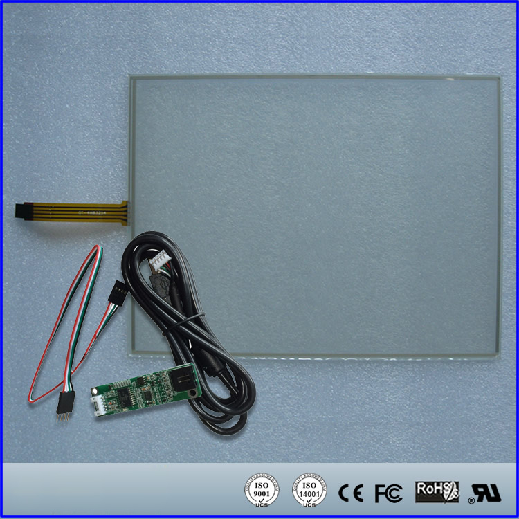 10.6inch 174mmx225.3mm 4Wire Resistive Touch Screen Panel USB kit for monitor new10 4 inch 4wire resistive touch screen panel for ht104a nd0a152 ht104a 223 172mm touch panel glass