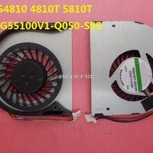 CPU FAN For ACER AS4810 5810T MG55100V1-Q050-S99 AS4820T 4745G 4553 5820TG MG60070V1-B040-S99 3CZQ1TATN00 MG60070V1-Q010-S99 GPU