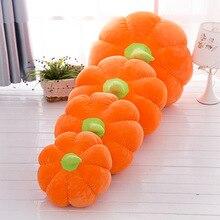Тыква плюшевая мягкая плюшевая кукла игрушка для детей Детские подушки диван кровать подушки в виде овощей подарок на Рождество Хэллоуин