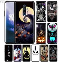 Jack Sally Nightmare Phone Case for Oneplus 7 7Pro 6 6T Oneplus 7 Pro 6T Black Silicone Soft Case Cover