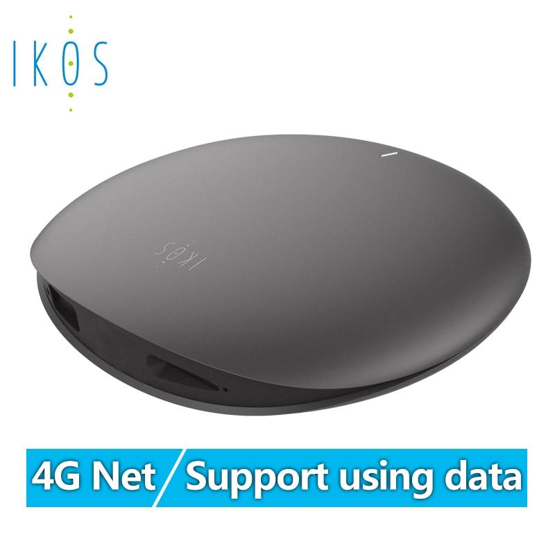 IKOS 4G Net coût d'itinérance gratuit double carte SIM et trois cartes SIM en ligne pour le support Iphone en utilisant les données