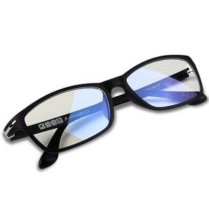 Image 2 - KATELUO 2020 텅스텐 컴퓨터 안경 안티 블루 라이트 피로 내 방사선 안경 처방 안경 프레임 RE13025