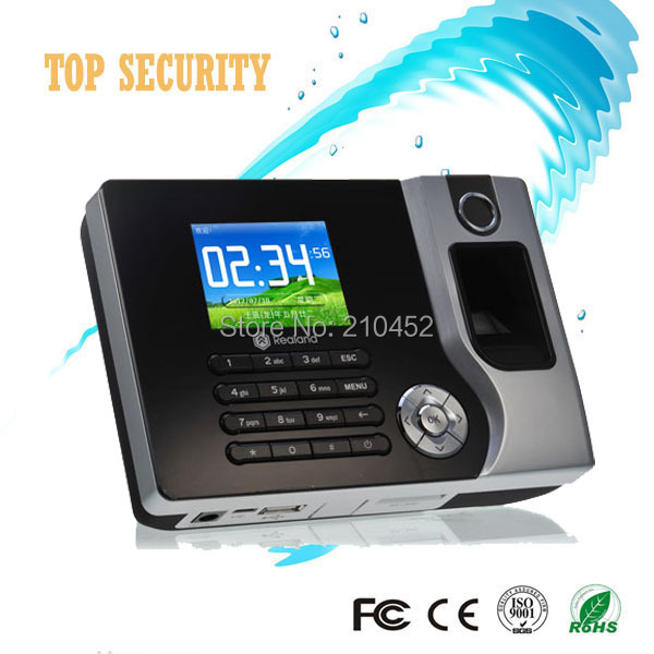 Good quality TCP/IP fingerprint time attendance time recorder time clock fingerprint and card reader A/C071 hot selling 3 high speed good quality 30000 user capacity color screen time attendance time clock m200 with tcp ip rj45