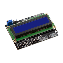 LCD1602 LCD characters input/output expansion board LCD Keypad Shield For Arduino Blue Screen