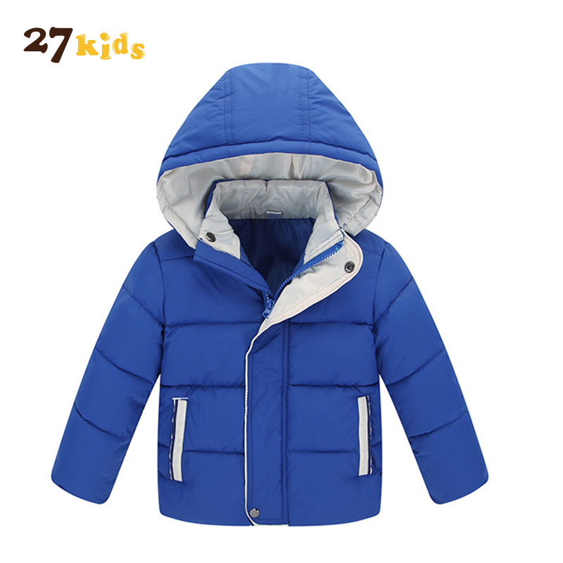 27Kids Baby Coat Winter Warm Jackets With Hooded Kids Boys Clothing Boys Long Sleeve Outerwear Jacket Coat Children Clothes clothing mens winter jackets coat warm men s jacket casual outerwear business medium long coat men parka hooded plus size xxxl