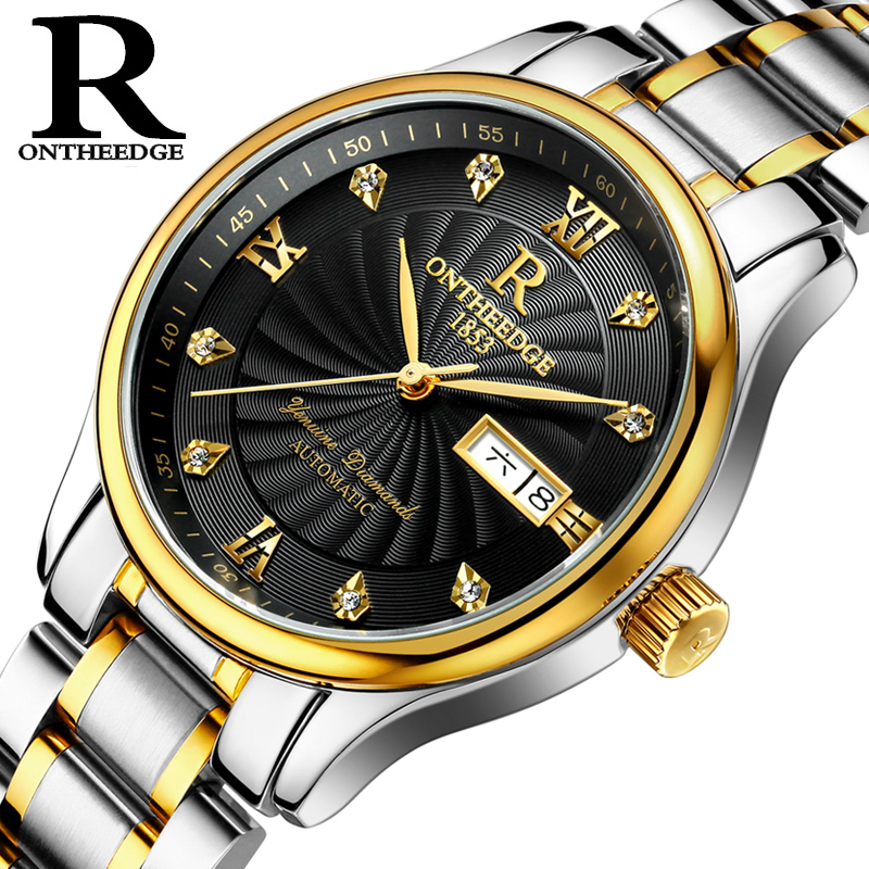 Luxury brand Mechanical Wristwatches for men 2018 new fashion Automatic Mechanical Watch men Full Steel Business watches все цены
