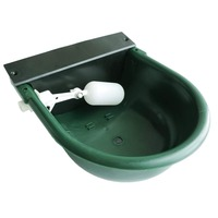 Automatic Float Valve Water Trough Cow Cattle Horse Water Bowls Livestock Tool Bowl for Cat Goat Sheep Dog Animal Drinking Tools