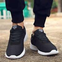2019 nuevos Zapatos casuales para hombres, Zapatos de cordones para hombres, zapatillas de deporte transpirables ligeras y cómodas para caminar, Tenis, Zapatos femeninos