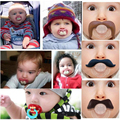 Top Silicone Funny Nipple Dummy Baby Soother Joke Prank Toddler Pacy Orthodontic Nipples Teether Baby Pacifier Dummy chupeta