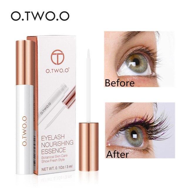 O.TWO.O Eyelash Enhancer Eye Lashes Longer Thicker Growth Nutrient Solution Eyelash Repair Treatment Liquid Lash Care Cosmetic