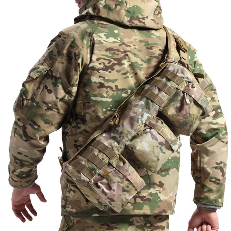 Sacs à bandoulière tactiques en plein air sac à dos d'entraînement Camo armée sac à dos d'assaut Wargame chasse militaire sac à dos unique aéroporté